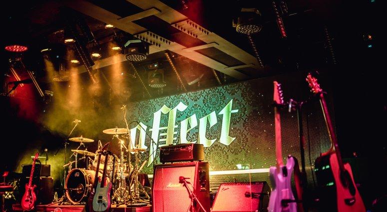 Снимка от участие на група Affect.